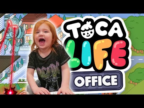 (76) Adley App Reviews Toca Life Office family pretend