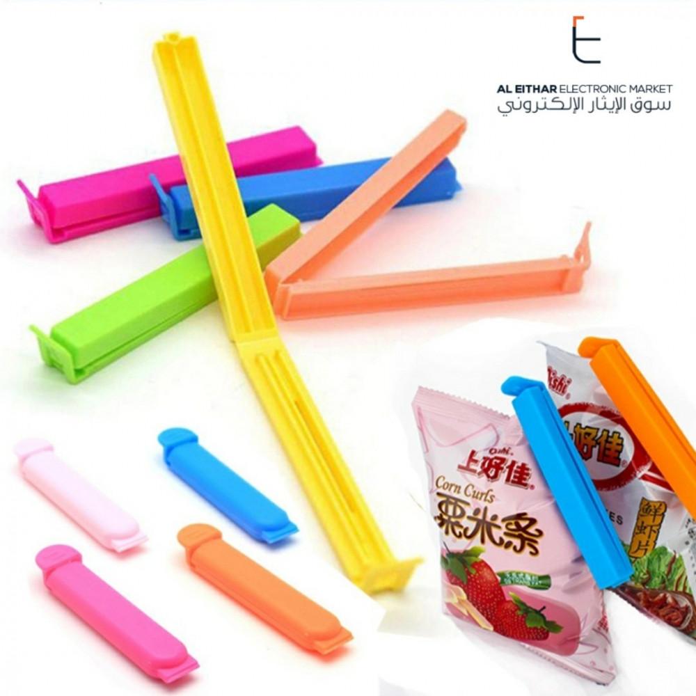 15 قطعة ملقط ختم اكياس طعام Food Bags Clips سوق الإيثار الإلكتروني Bag Clips Food Storage Plastic Sealer