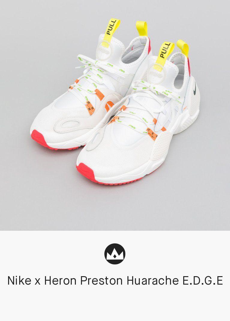 708741042cfa Nike x Heron Preston Huarache E.D.G.E  men  shoes  sneaker  white