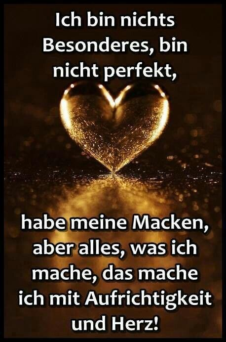 Ich Bin Nicht Perfekt Just Good Pinterest Quotes