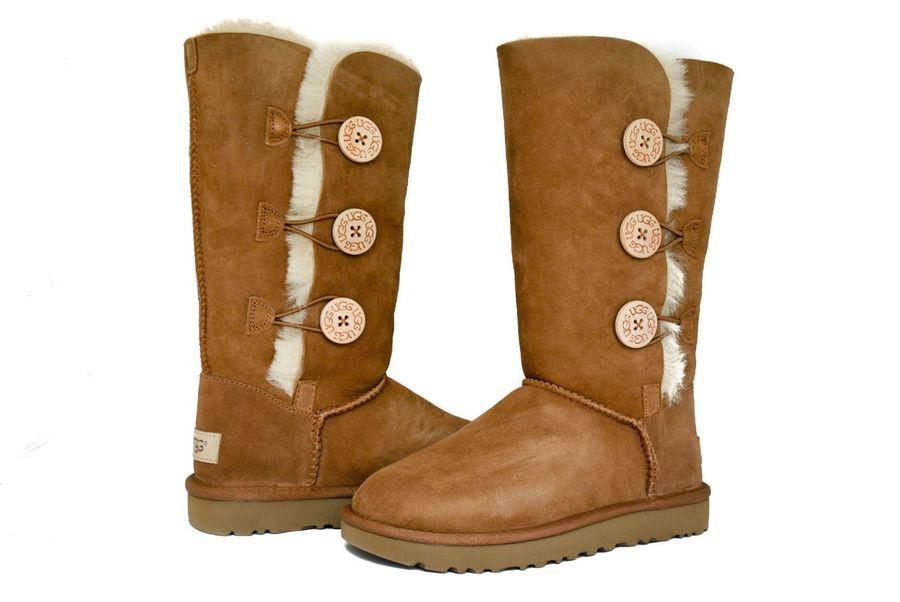 69769c0c4c8 UGG Australia Women Bailey Button Triplet 2 II Boots 1016227 Black ...