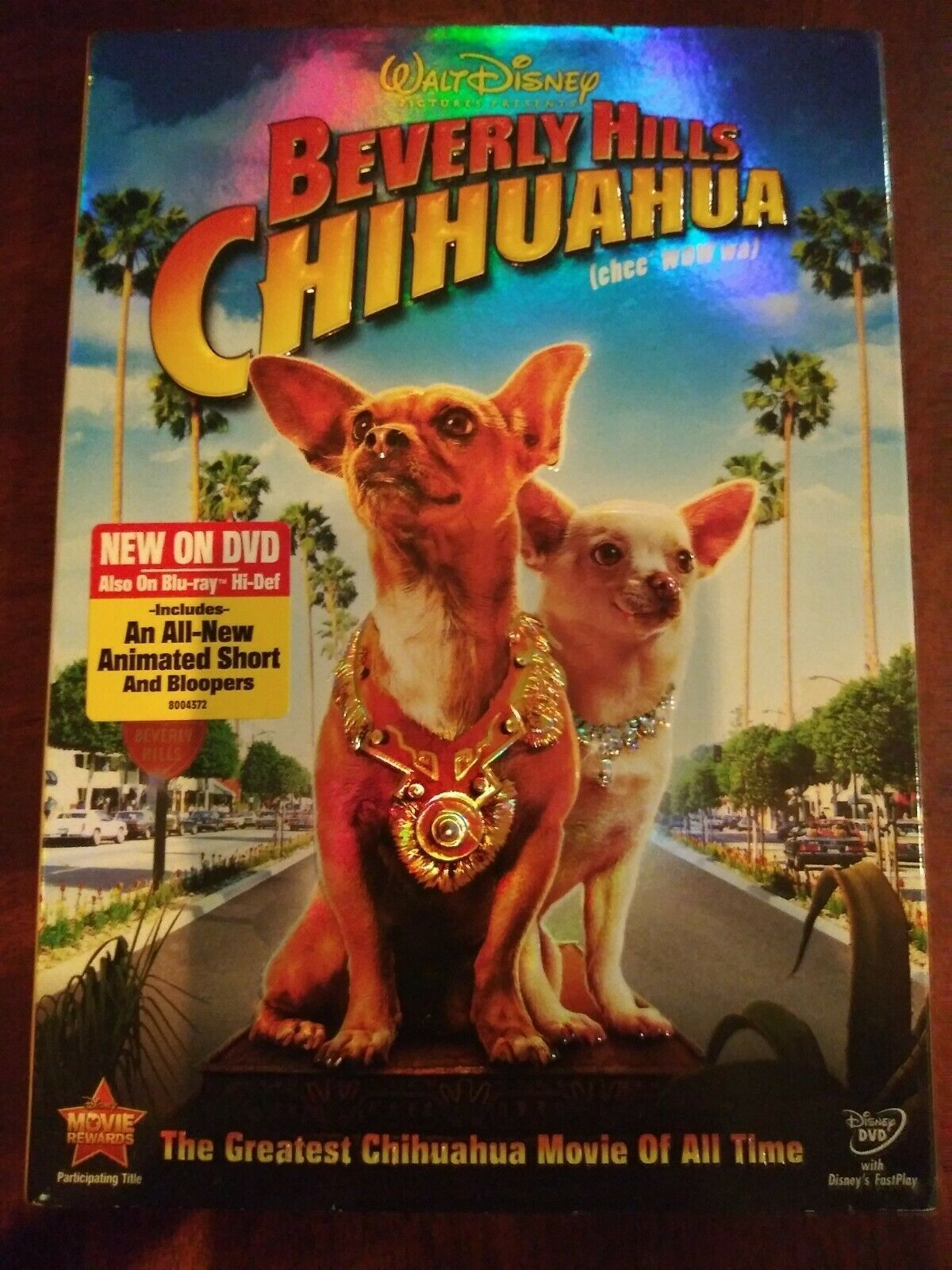 Collectible Factory Sealed Walt Disney Beverly Hills Chihuahua