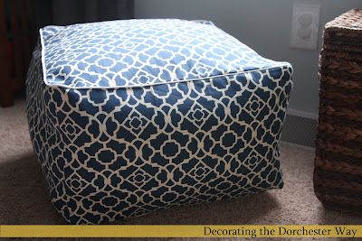 Sitting Pretty 25 Perfect Diy Pouf Tutorials With Images Diy Pouf