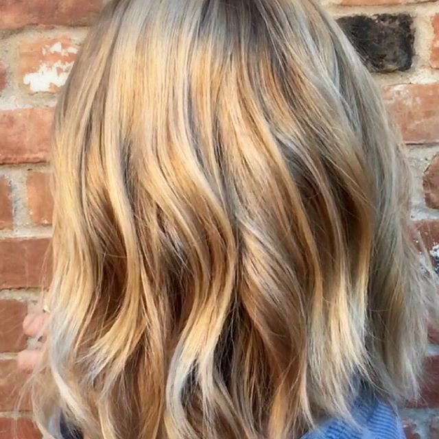 Artist: Kelly Lawrence at Thomas Hardy Salon, Ogden UT #blondebalayage, #balayage, #sexyhair, #waveyblonde…
