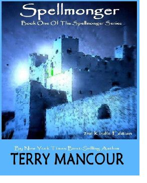 http://bookbarbarian.com/spellmonger-by-terry-mancour/ Minalan gave up a promising career as a professional warmage to live the quiet life of a village spellmonger in the remote mountain valley of Boval. It was a peaceful, beautiful little fief, far from the dangerous feudal petty squabbles of the Five Duchies, on the world of Callidore. There were cows. Lots of cows. And cheese.   For six months things went well: he found a quaint little shop, befriended the local lord, th