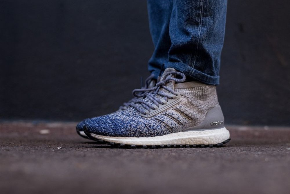 Adidas ultra boost all terrain ltd Gris  in noble indigo trainers in  48b0a4
