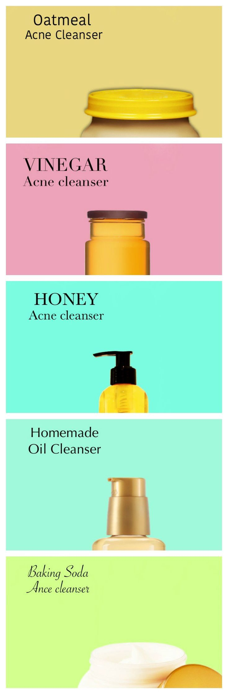 5 simple and effective homemade acne cleansers
