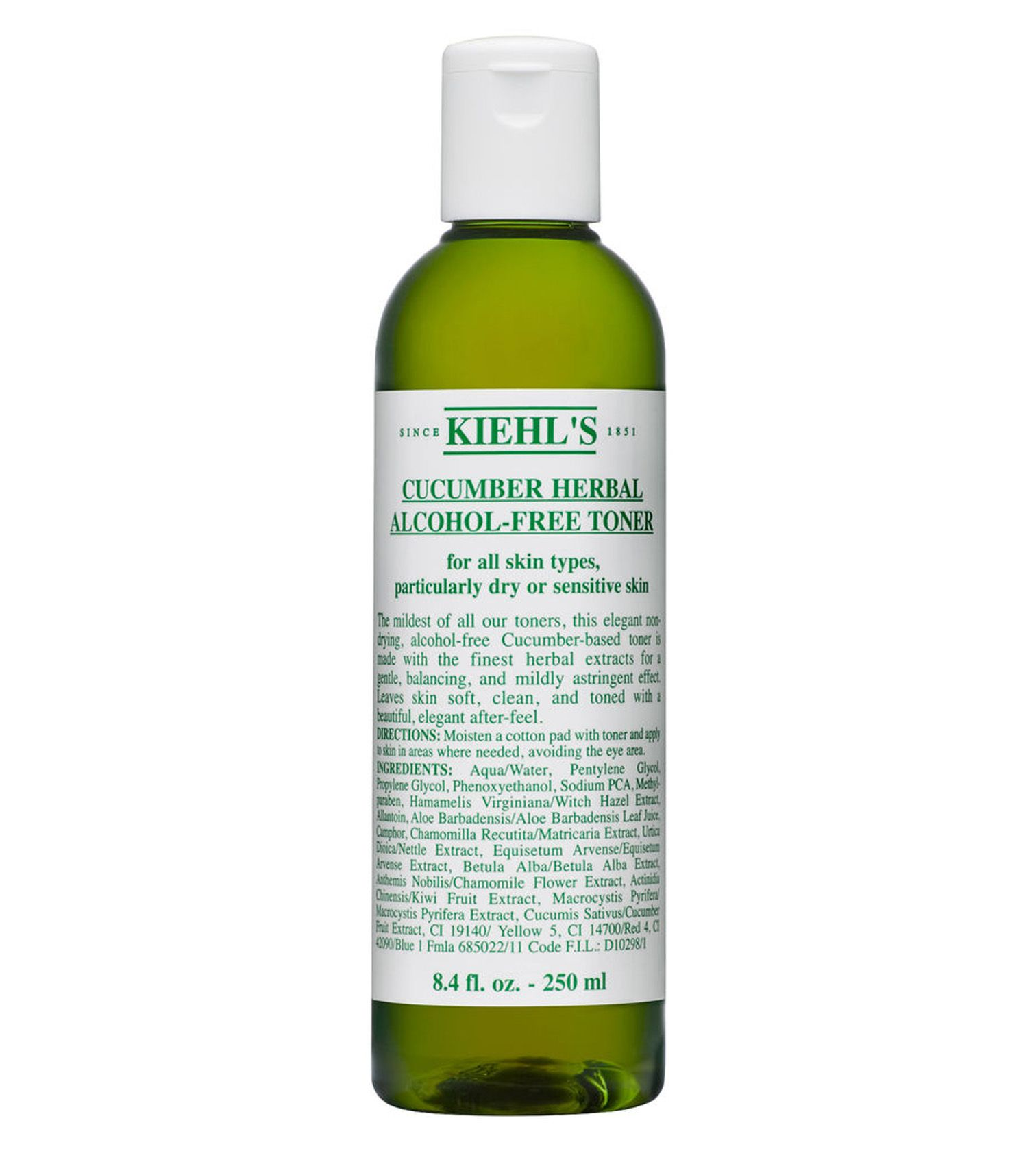 Cucumber Herbal Alcohol Free Toner Kiehl S Alcohol Free Toner Dry Skin Remedies Toner For Face