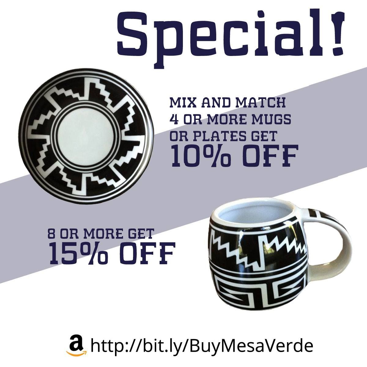 Special! Mix and match 4 or more Mesa Verde Cliff Dweller