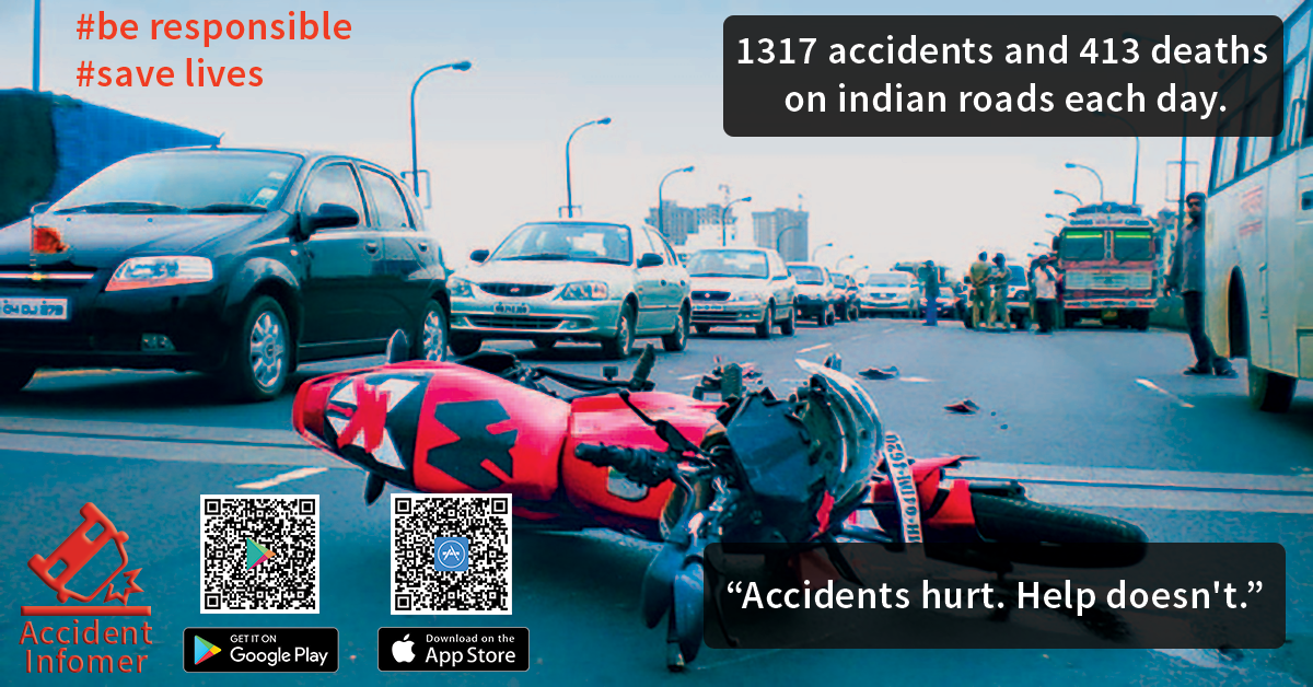 Accident hurts. Help doesn\'t. Download the ACCIDENT INFORMER App and ...