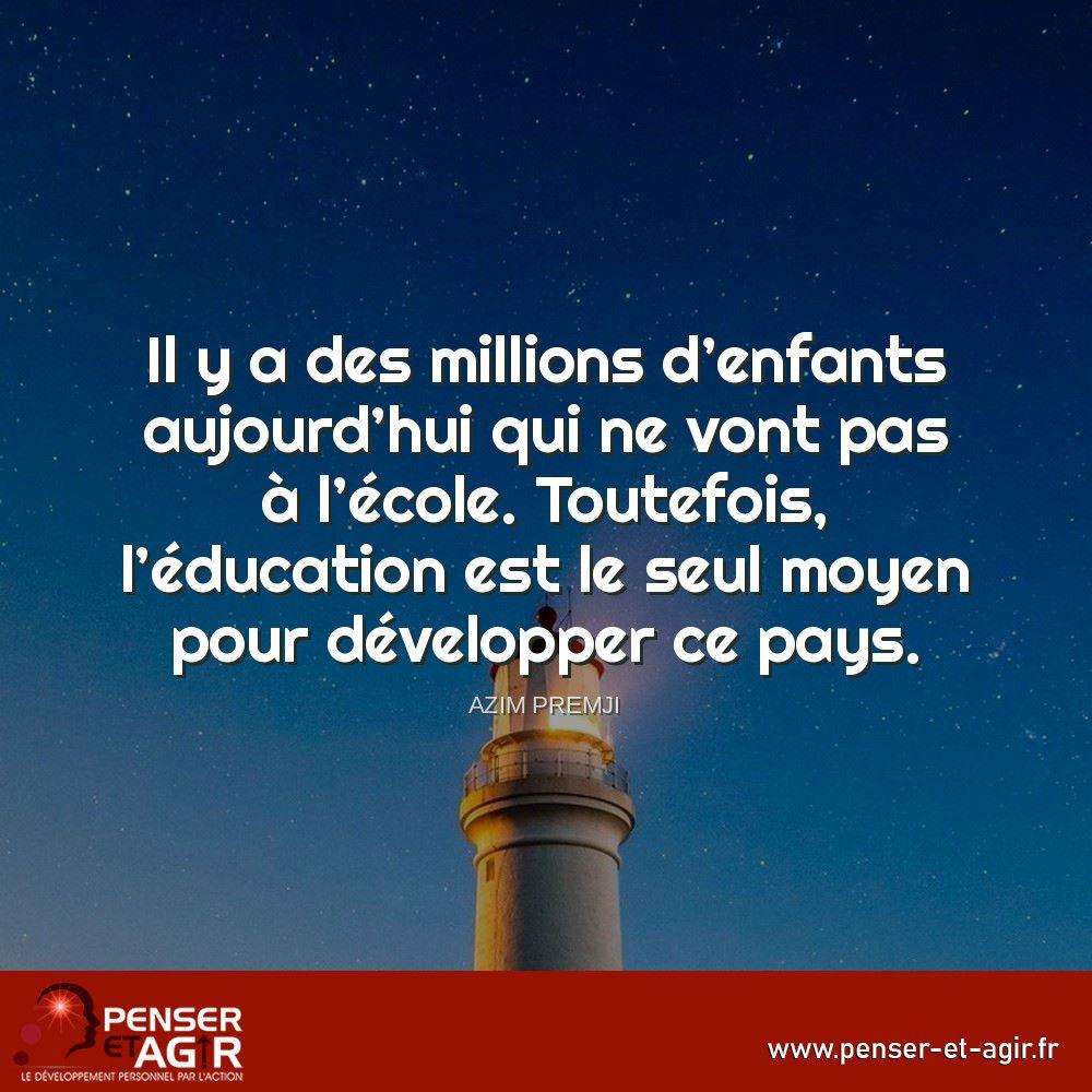 Penser Et Agir Le Developpement Personnel Par L Action Developpement Personnel Je Pense A Toi Citations Inspirantes
