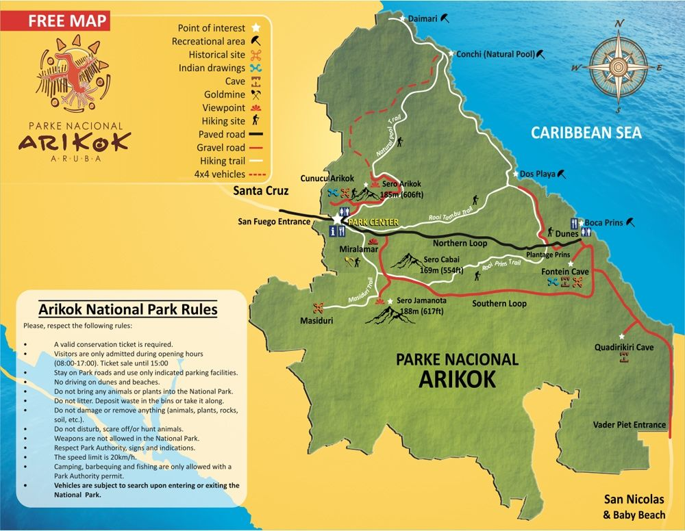 Explore Arikok National Park In Aruba