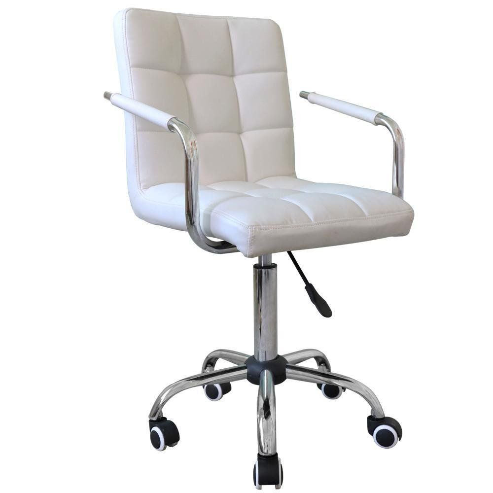 Leather Office Chair Modern West Elm Amazoncom Go2buy Rolling