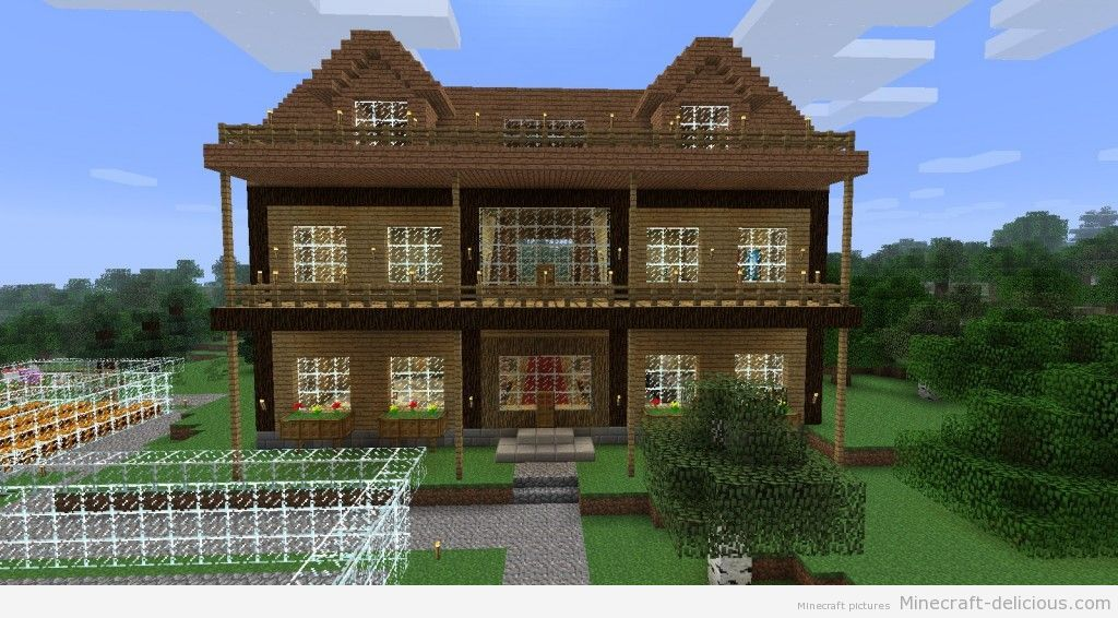 Awesome Big Minecraft Houses Minecraft House Awesome 1024x566