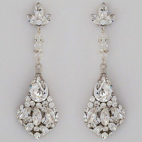 Erin Cole Bridal Earrings