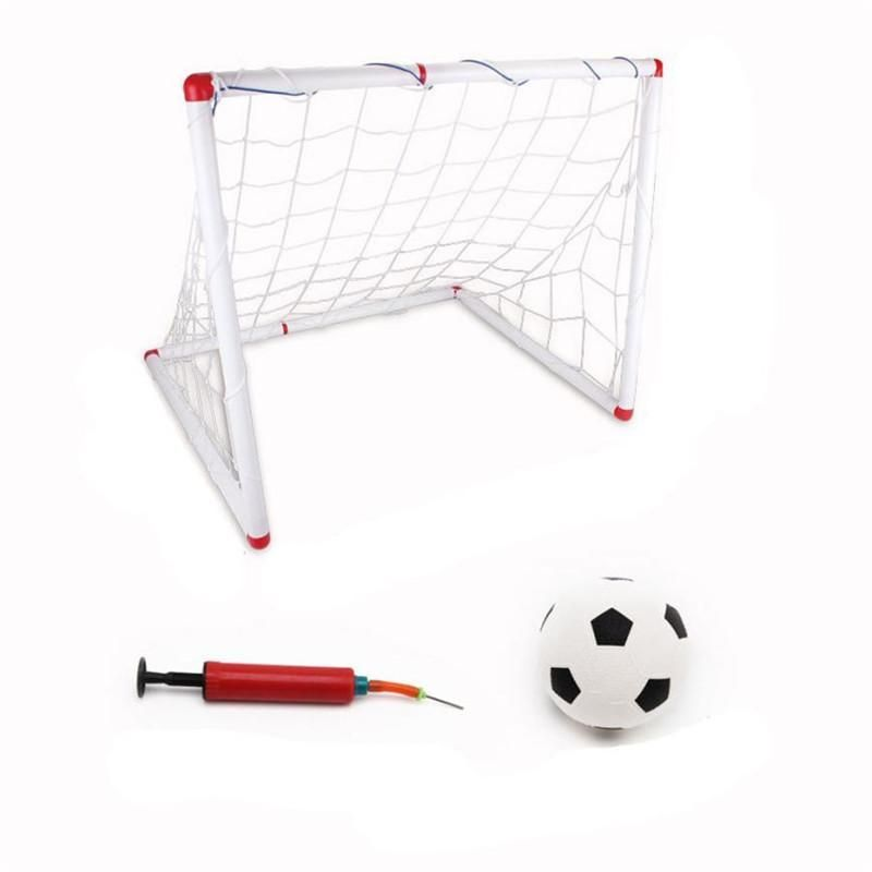 Children S Indoor And Outdoor Goal Disassembling Folding Portable Goal Door Frame Box Frame Football Tennis W21 Box Frames Kids Soccer Goal Football