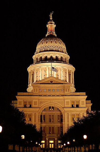 Austin Texas Capitol Building My Favorite Things