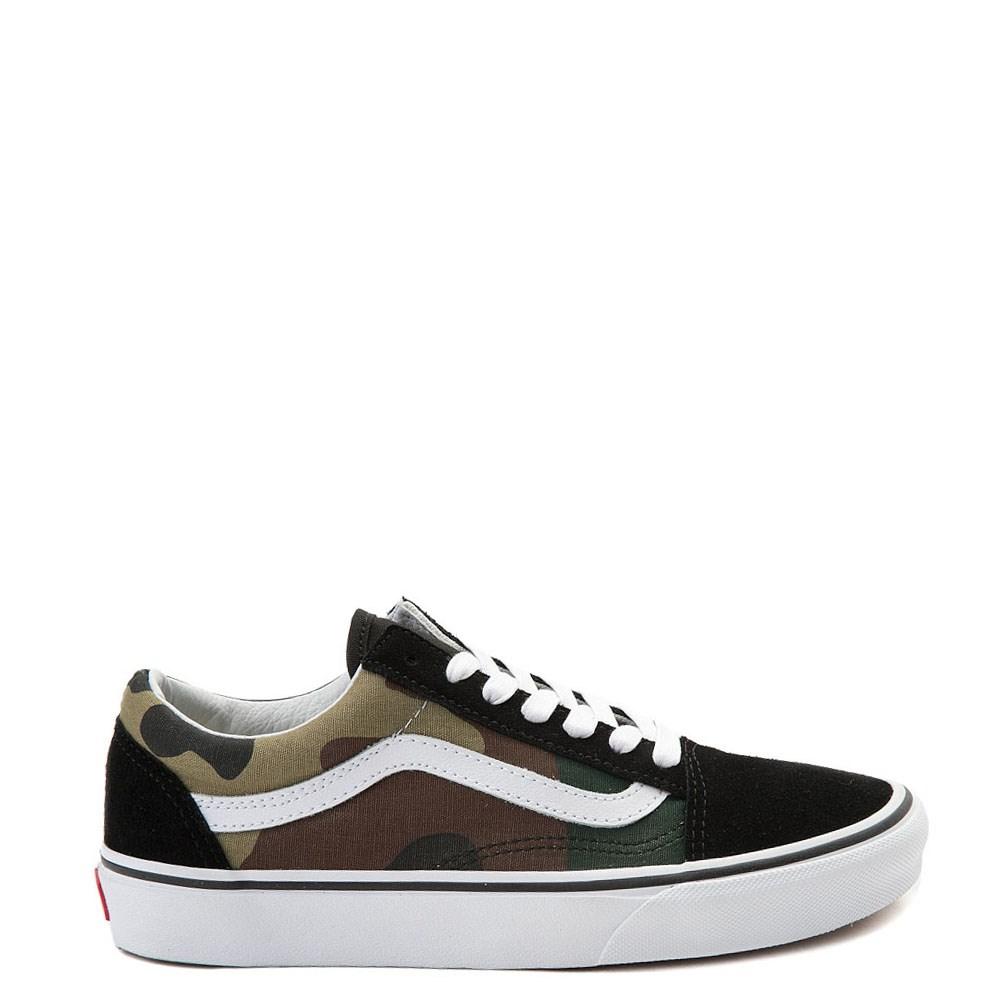 Vans Old Skool Skate Shoe - Black