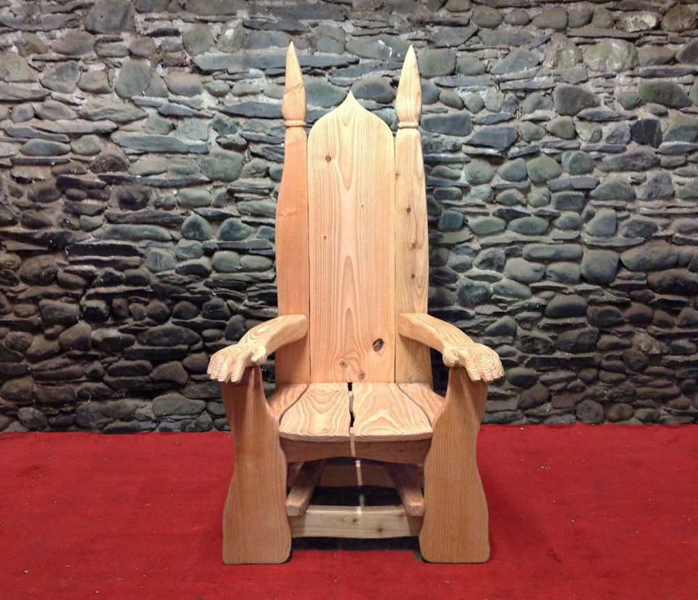 Sensational Handmade Wooden Throne I Want To Build This In 2019 Beutiful Home Inspiration Ommitmahrainfo