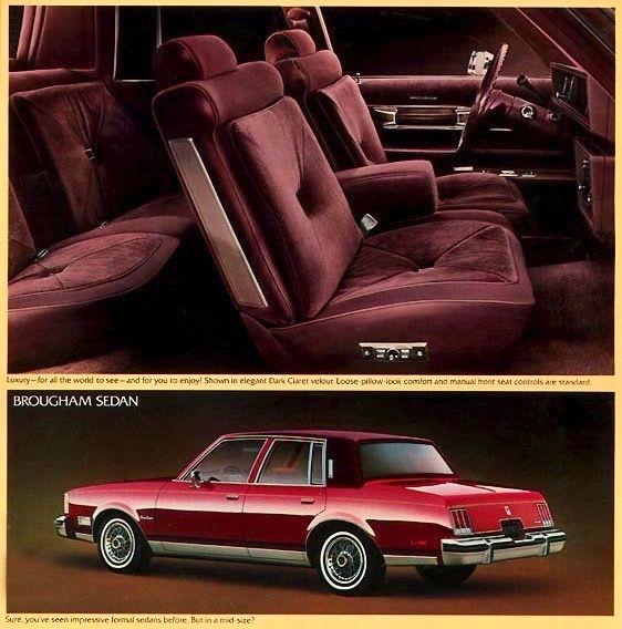 olds cutlass brougham sedan 1980s gm cars pinterest sedans rh pinterest com Oldsmobile Toronado Oldsmobile Toronado