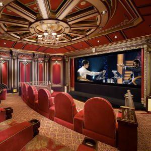 designer home theaters   screening room (Home theatre)   Pinterest ...