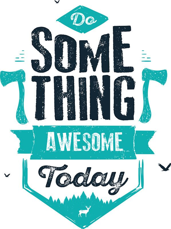 DO SOMETHING AWESOME TODAY iphone case