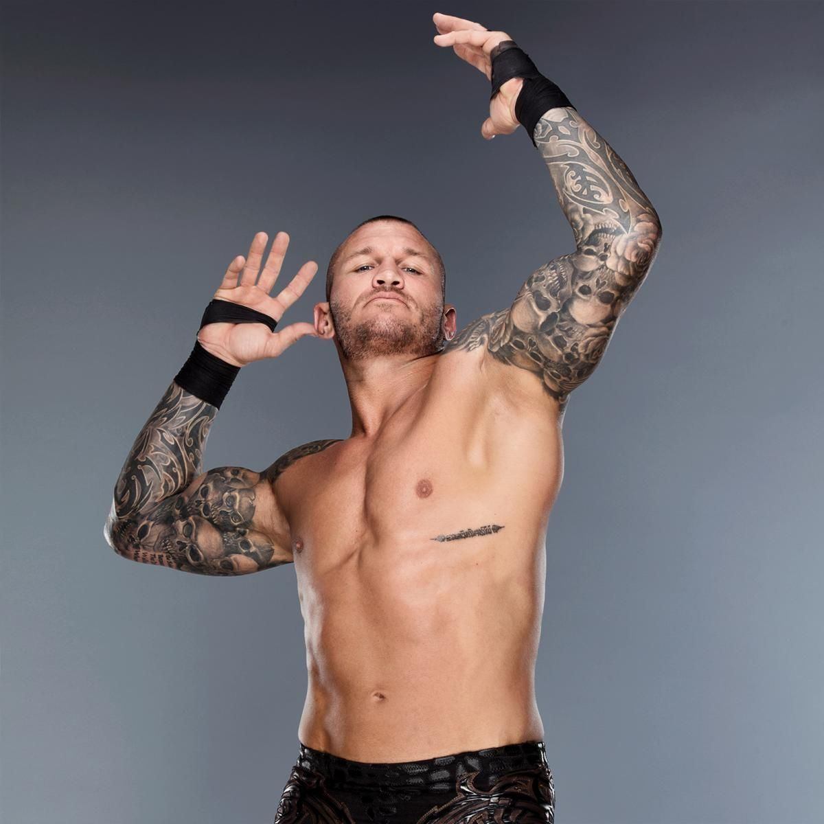 guess the tattooed superstar photos randy orton