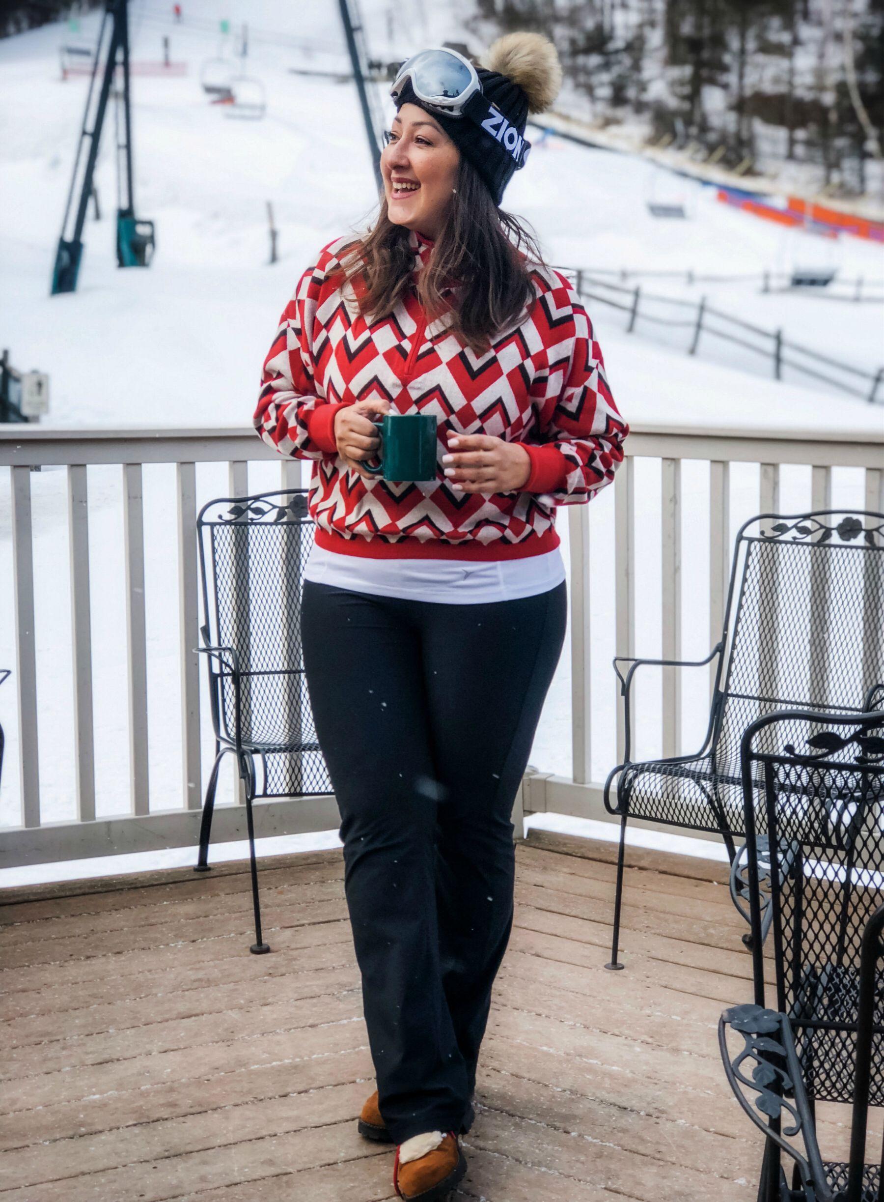 Preppy après ski. Coffee tasting, Style snaps, Christmas