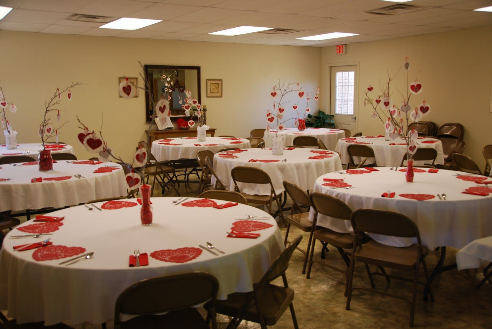 Valentine S Banquets For The Young And Old And In Between
