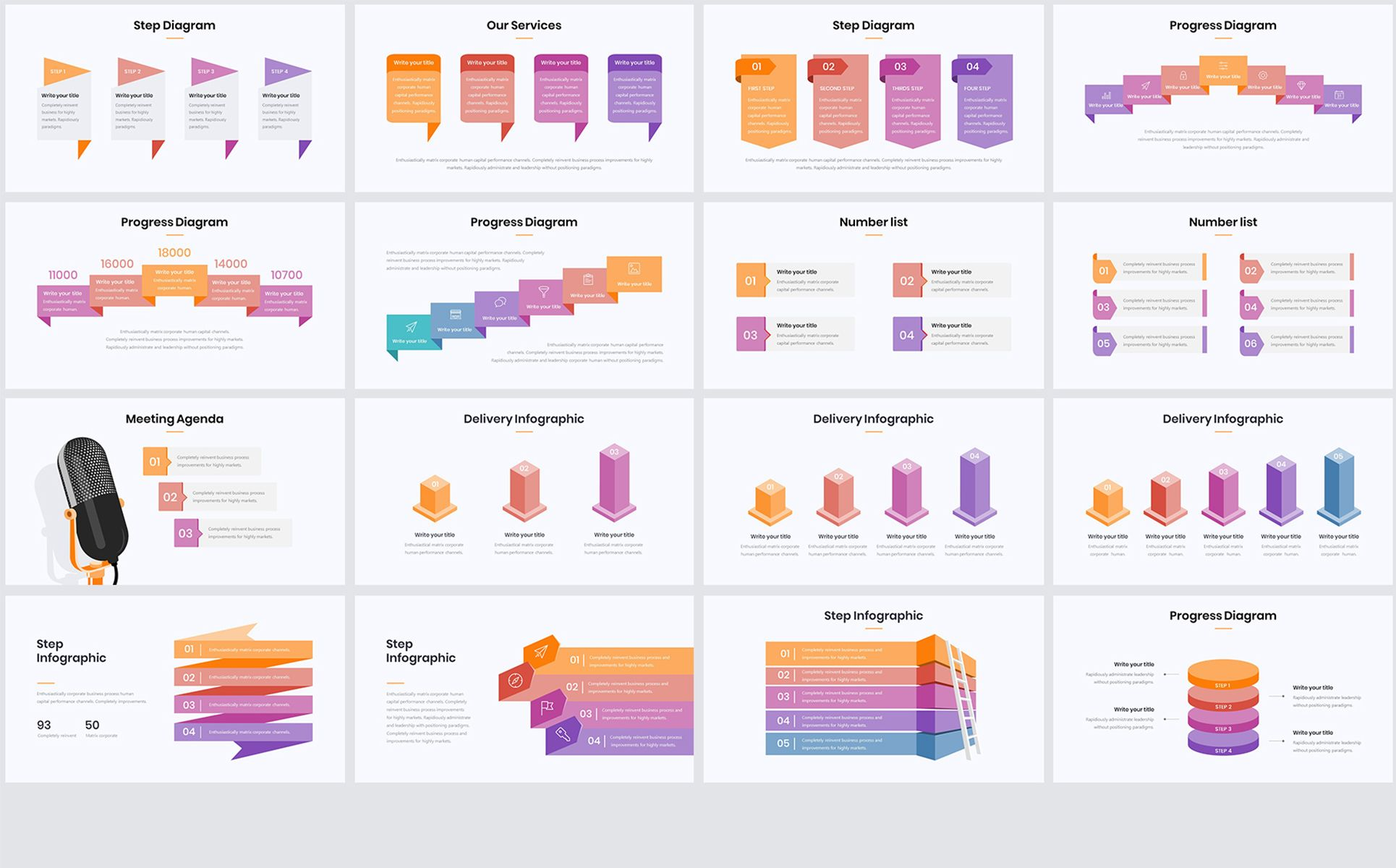Millionaire-Elegant Infographic Pack 1 1 PowerPoint Template