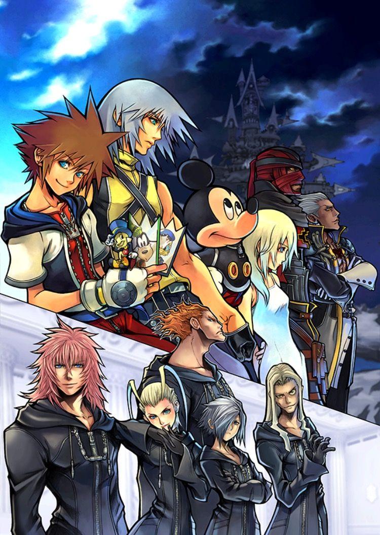 Kingdom Hearts Kingdom Hearts Kingdom Hearts Hd Kingdom Hearts