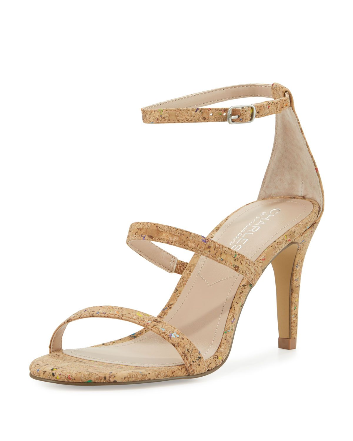 b4caa6bd51bfd Charles by Charles David Zion Cork (Brown) Strappy Sandal, Rainbow ...