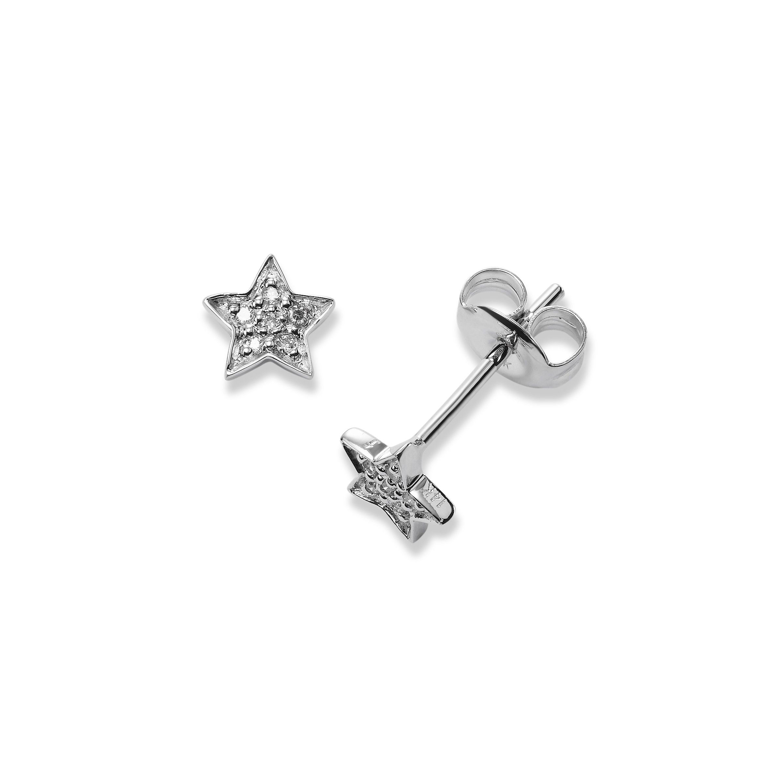 Pavé Diamond Star Stud Earrings 37e49ecbc8