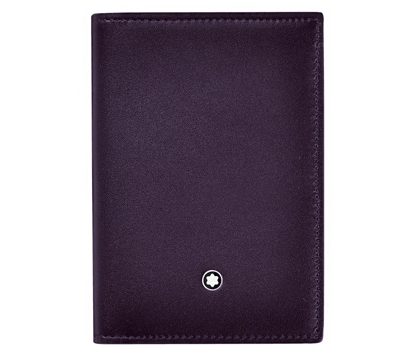 Montblanc 114511 Meisterstuck Sfumato Purple Leather Business Card ...