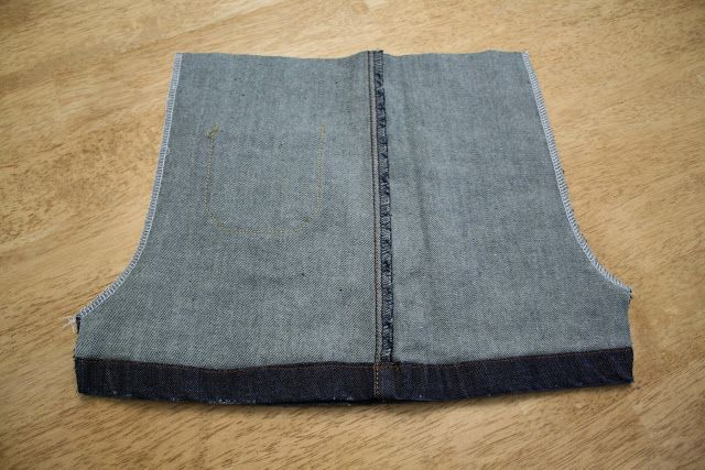 Toddler shorts from jeans legs - Melly Sews