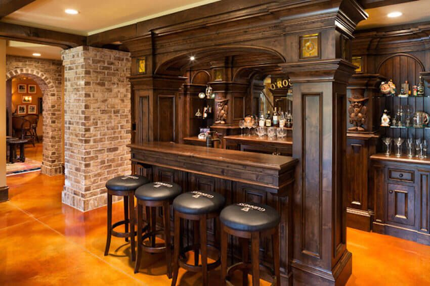High Quality Bar Chitecture: The Coolest Home Bars