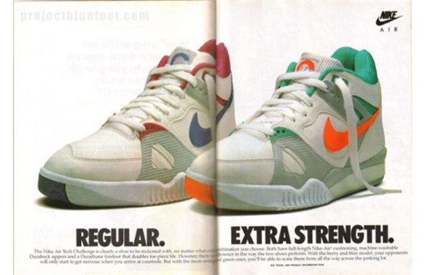 Andre Agassi's 10 Best Sneakers of All Time5. Nike Air