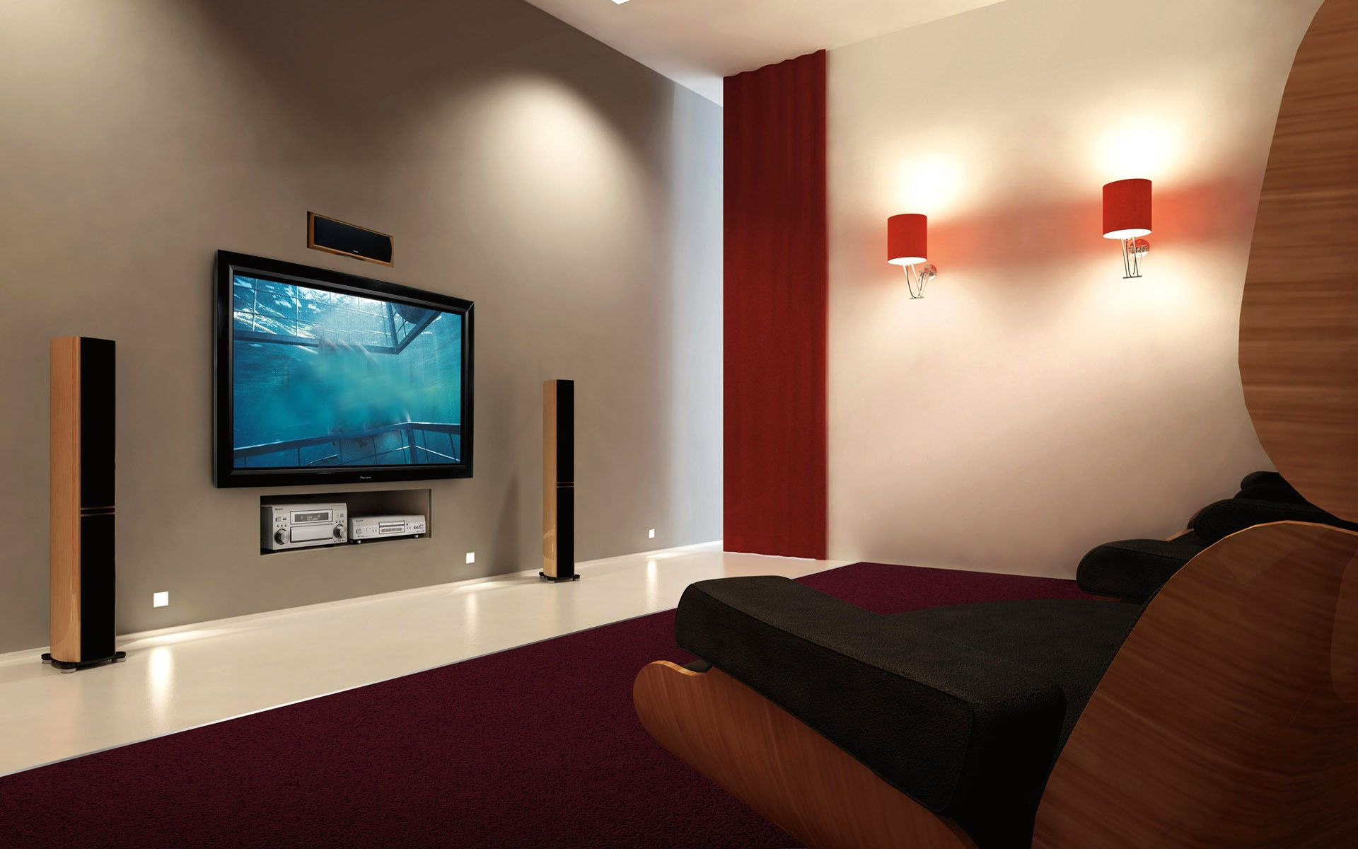Living Room Home Theater System Design Ideas Home Design Ideas Tv Wall Mount Installation Swivel Tv Wall Mount Samsung Tv Wall Mount
