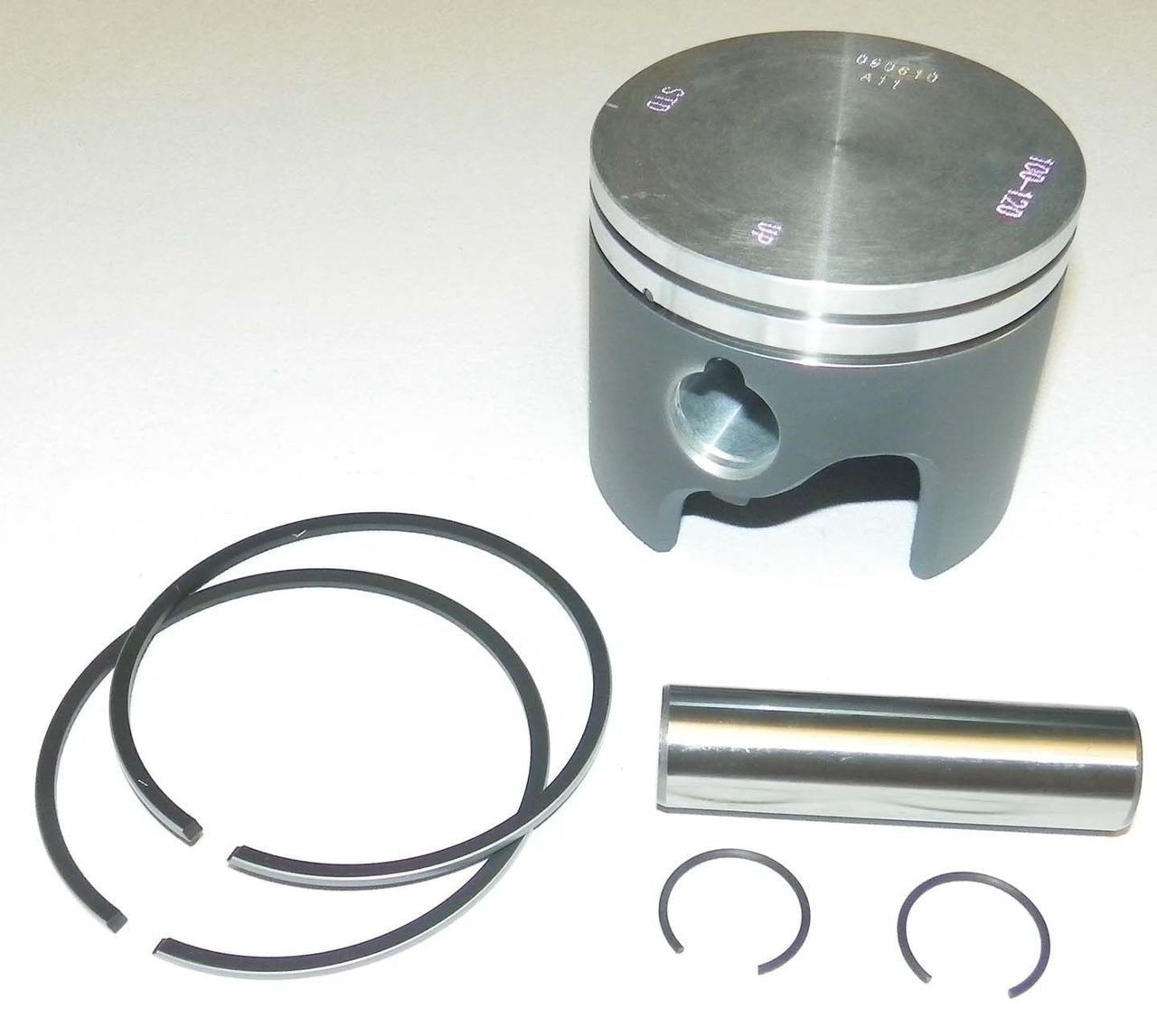 WSM Johnson Evinrude 120-300 HP Loop Piston Kit 100-135pk STD PORT SIDE