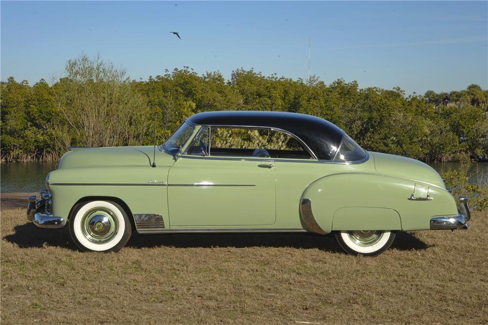 1952 chevrolet bel air hardtop chevrolet pinterest for 1952 chevy belair 4 door