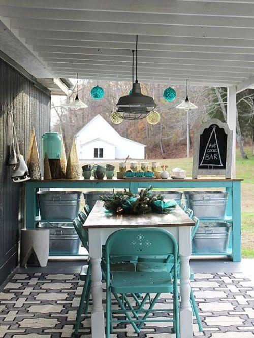 Idées pour cuisine extérieure \u2013 à la terrasse ou dans le jardin