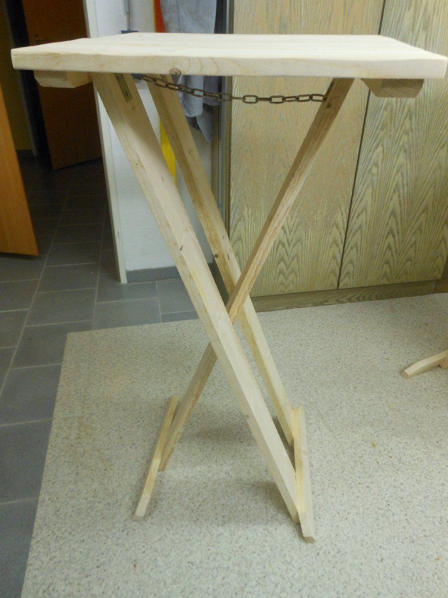 The Making Of My Stehtisch Stehtisch Selber Bauen Stehtisch Holz Stehtisch