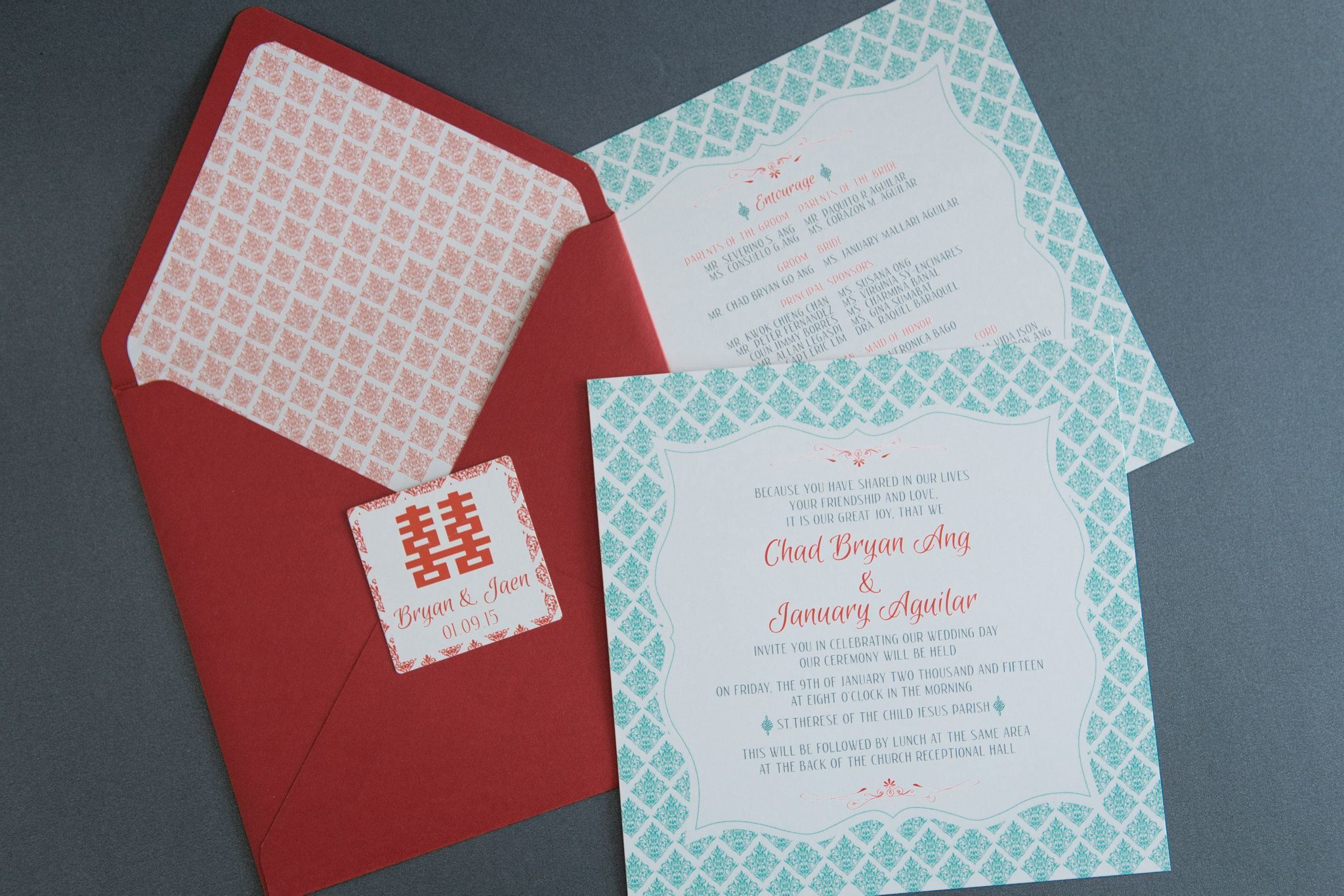 Outstanding Chinese Wedding Invites Image - Invitations Example ...