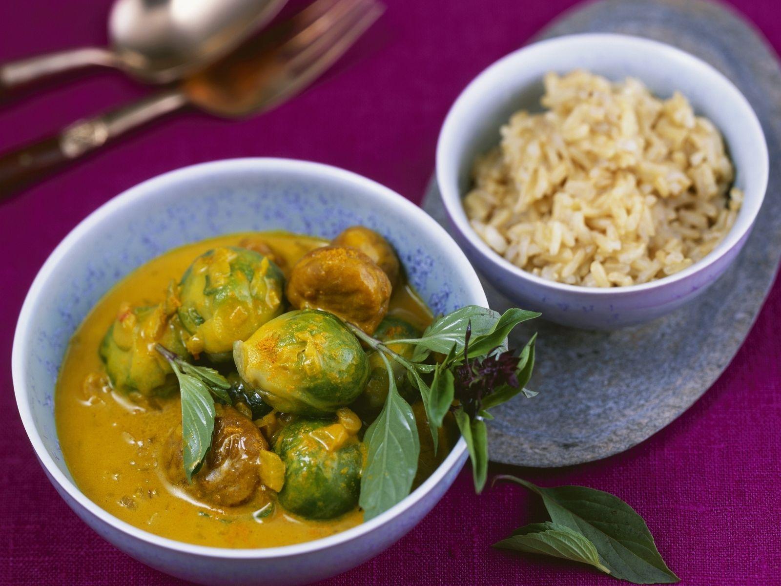 thai curry mit rosenkohl und kastanien rezept curry. Black Bedroom Furniture Sets. Home Design Ideas