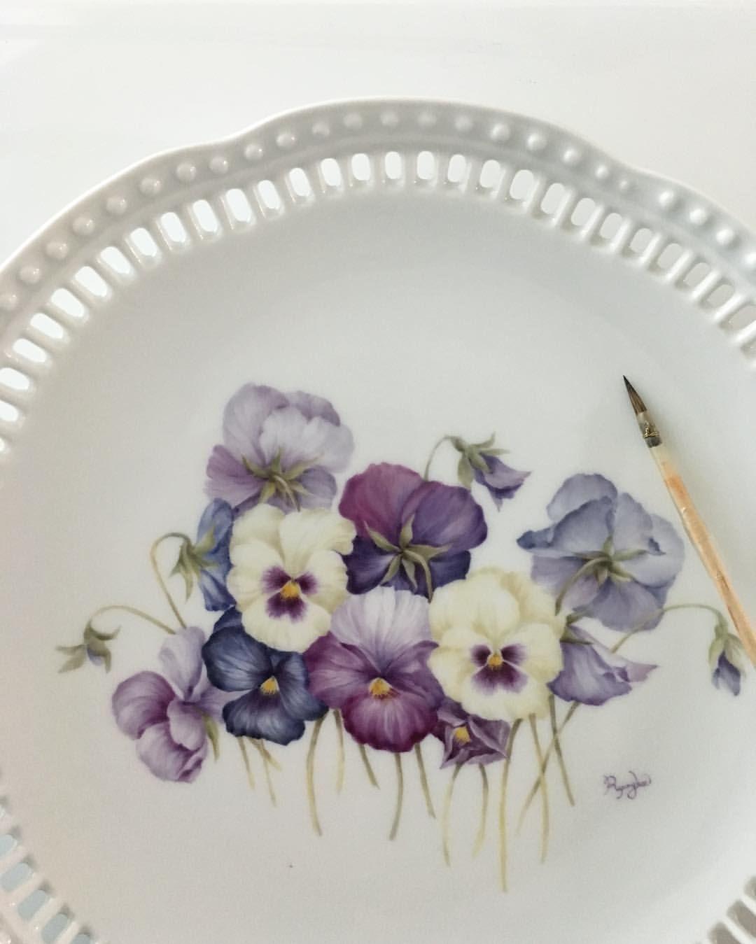 Porcelainpainting Handpainted Porcelain Artwork