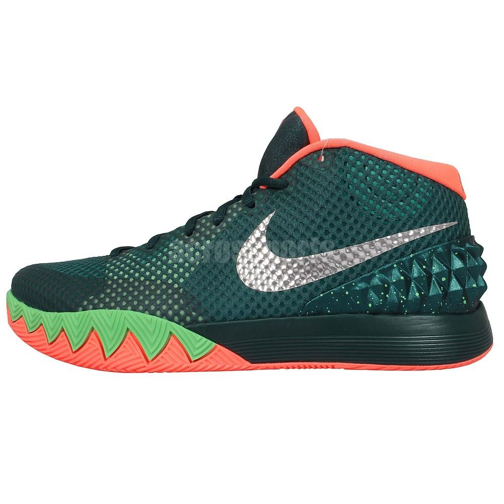 f6eba0b27b5 ... Nike Kyrie 1 EP Flytrap Kyrie Irving Emerald Green 2015 Mens Basketball  Shoes http ...