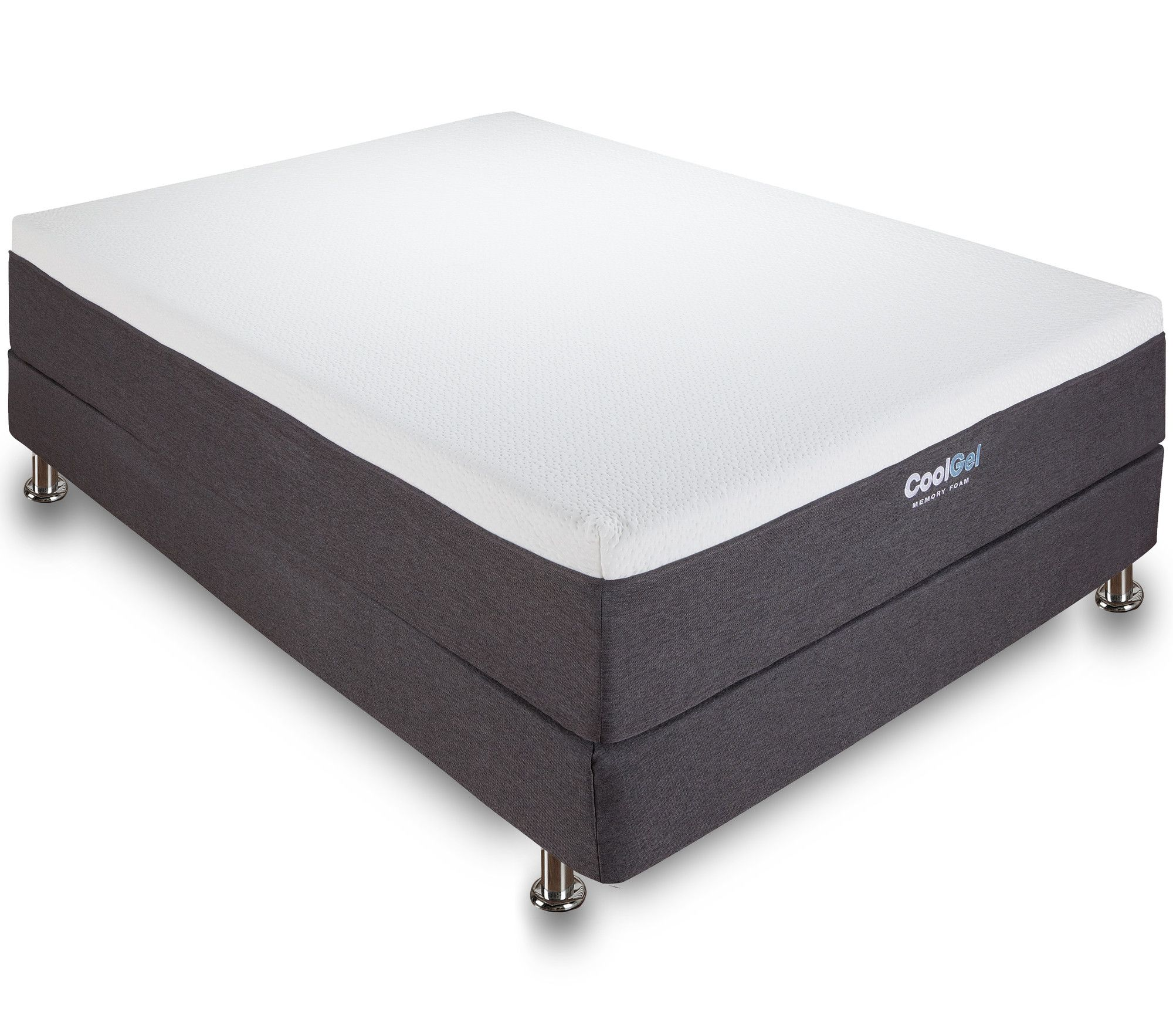 Classic Brands Cool Gel 12 Ventilated Gel Memory Foam Mattress Reviews Wayfair Gel Memory Foam Mattress Memory Foam Mattress Mattress