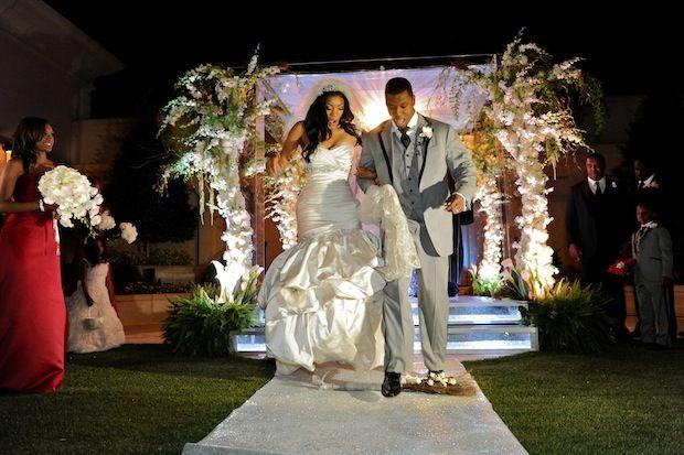 Real Housewives Of Atlanta S Porsha Williams Kordell Stewart Wed Timeless Wedding Ceremony Inspiration Wedding Ceremony