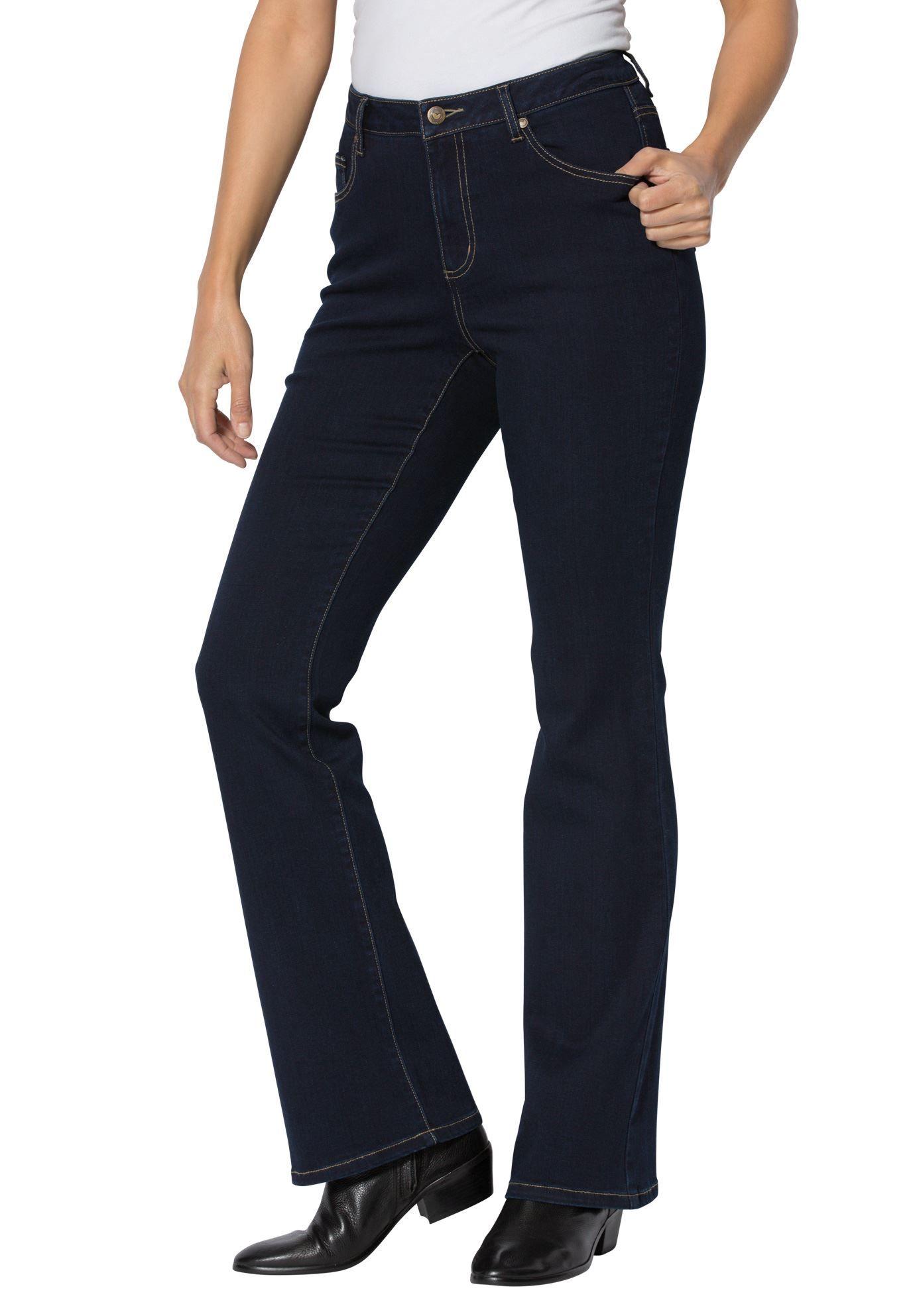 596ff2aed7a Plus Size Flare Super Stretch Jean