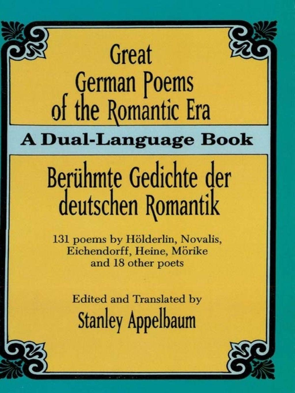 Great German Poems Of The Romantic Era Ebook
